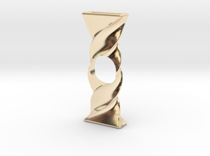 Twist Spinner 3d printed