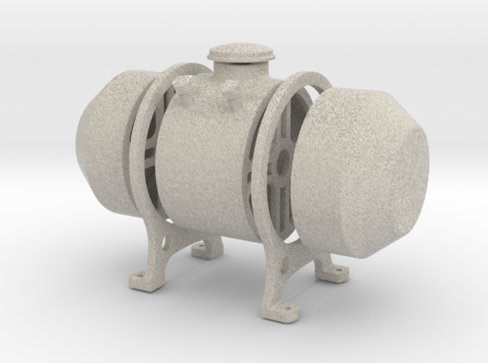 8th scale fuel tank 3d printed