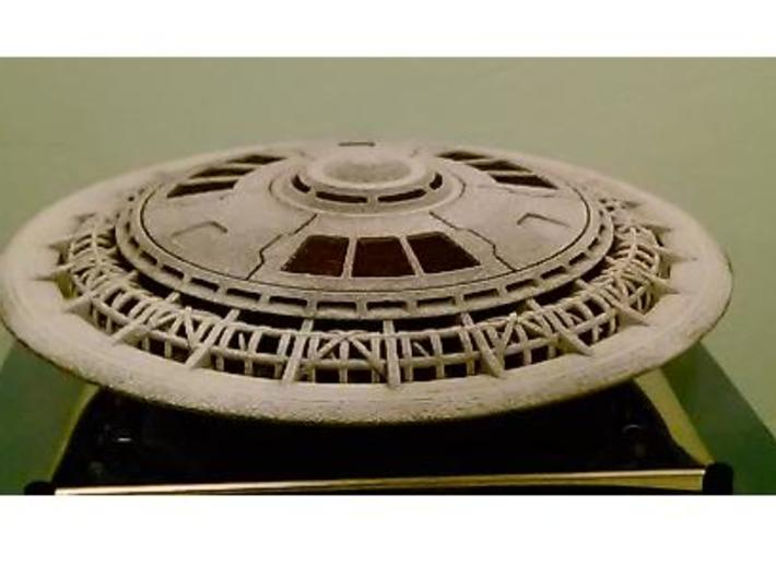 Ring Ship Kit (5 in. Dia.) 3d printed 3-D Printed and Painted Model
