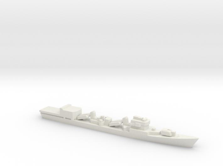 Type 051D Destroyer w/ Helo Hanger, 1/3000 3d printed