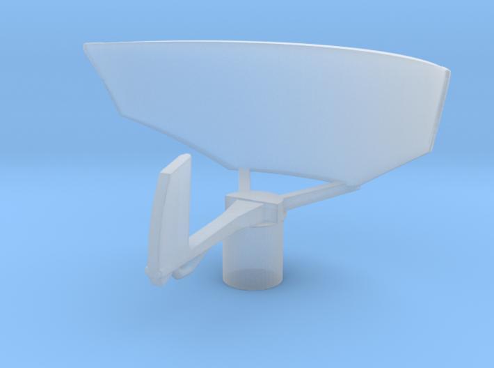 1/96 Scale SPS-12 Radar 3d printed