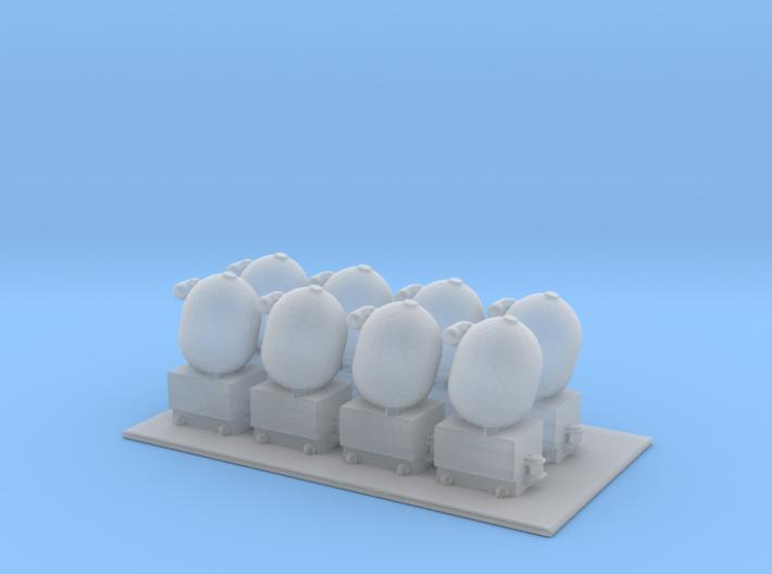 1/144 Scale Mk 16 Mine 3d printed