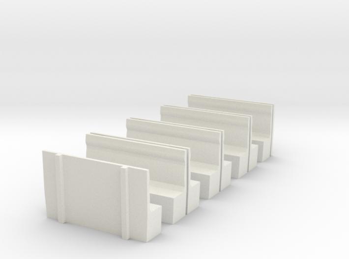LCDR Saloon Seats - OO 3d printed