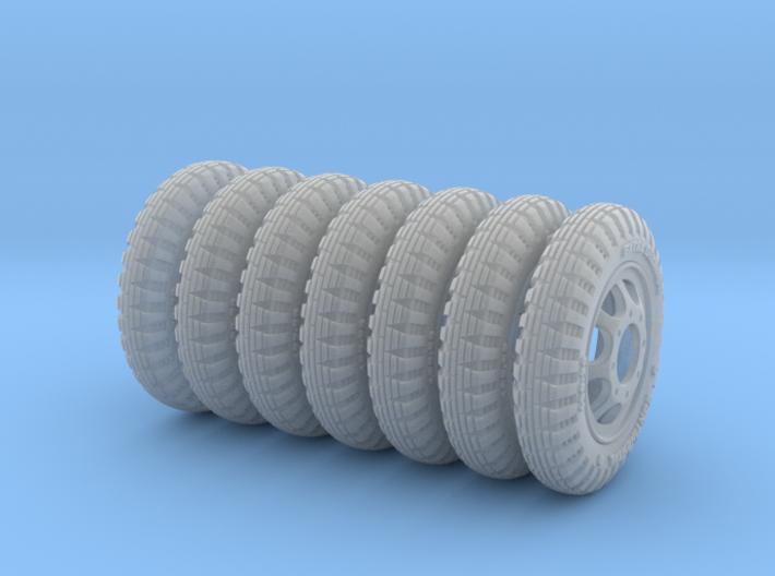 1-35 Opel Blitz Tire 190x20 FUD Set2 3d printed