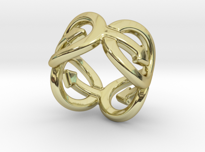 Coming Out Ring 18 – Italian Size 18 3d printed