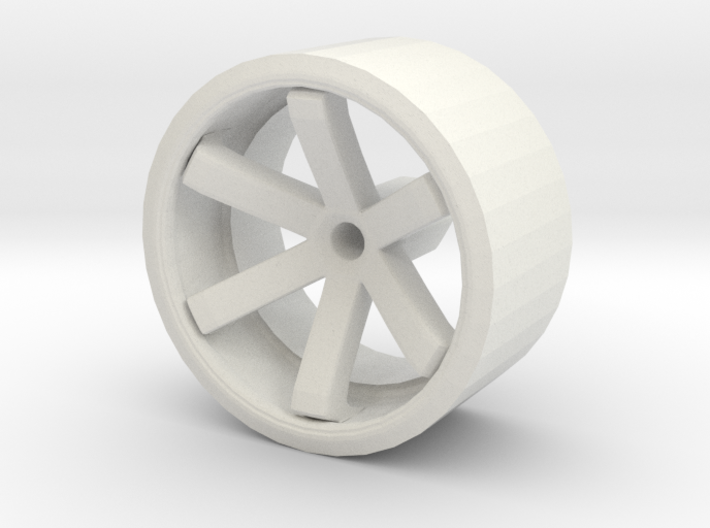 RAYS TE37 For Hot Wheels Cars 3d printed