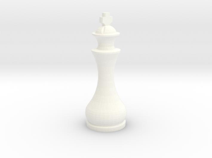 Pomo King 3d printed