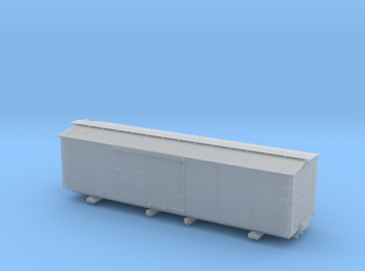 "NYC&HR 35' Boxcar with 24"" Running Board 3d printed"