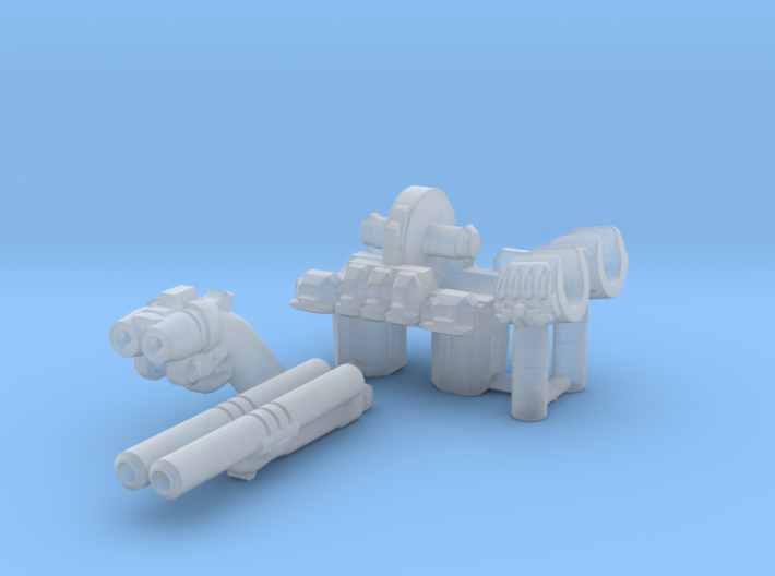 Mars Marine Upgrade Set 3d printed This is what you will get