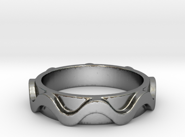 Copa band Ring Size 5.5 3d printed