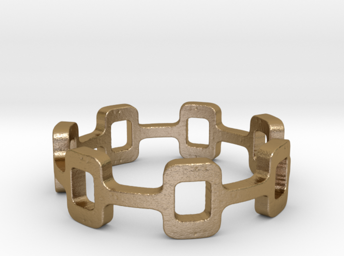 Ipa stack Ring Size 8.5 3d printed