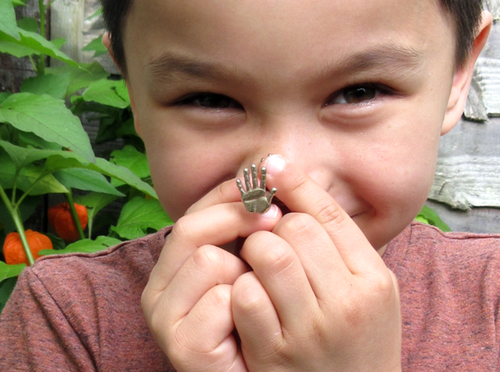 Handprint wax seal 3d printed small boy not included