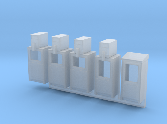 Newspaper Boxes in O scale 3d printed