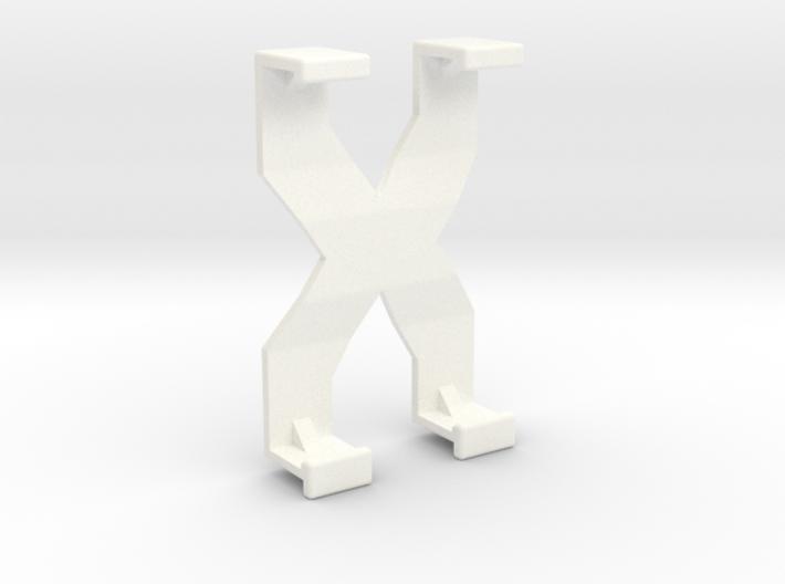 GoPro 3D rig back (2 of 2) 3d printed
