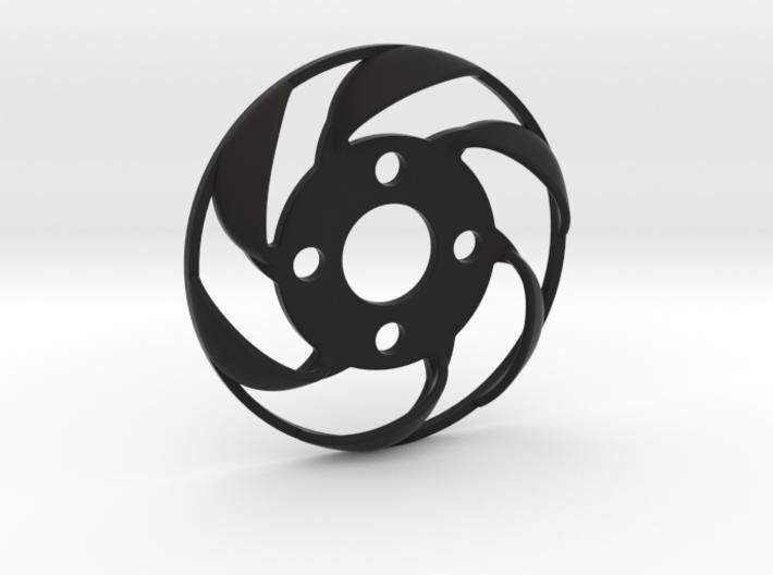 Yokomo YD2 spurgear plate fan 3d printed