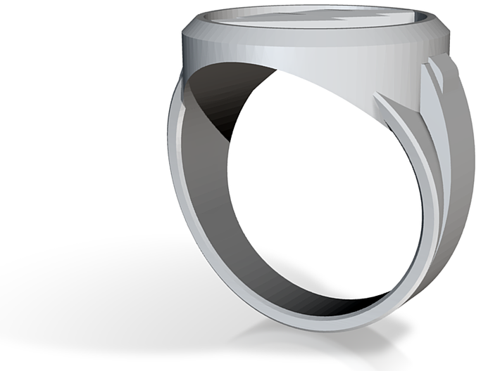 The Flash Size 5 ring 3d printed
