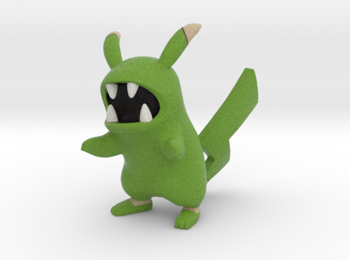 Pokefusion - Zuchu, Shiny 3d printed