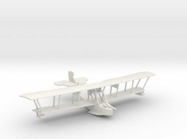 Grigorovich M-9 Flying Boat 3d printed 1:144 Grigorivich M-9 in WSF