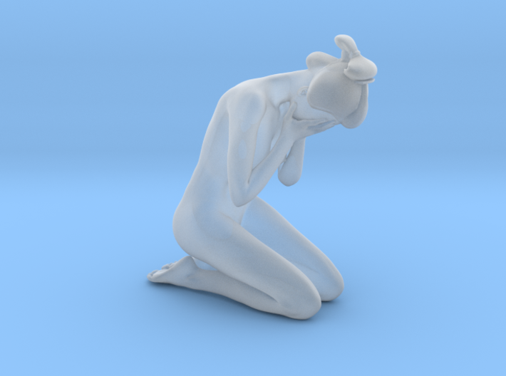 Classical Japanese girl 017 1/24 3d printed