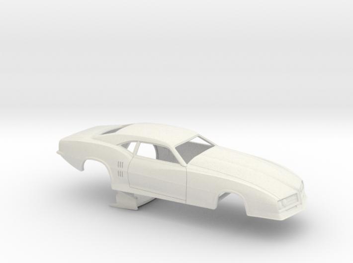 1/25 68 Firebird Pro Mod Small Wheelwell No Scoop 3d printed