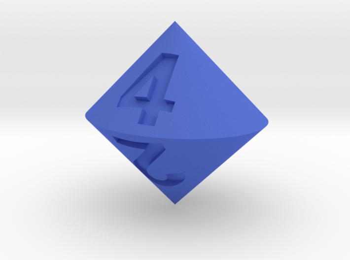 d4 Bicone 3d printed
