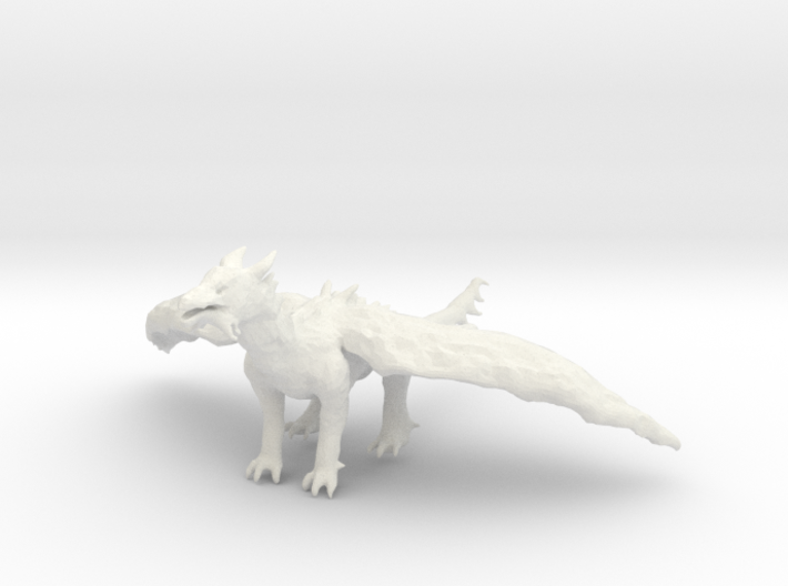 Dragon Statue 3d printed