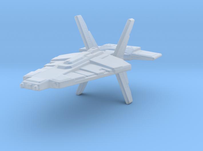 Talarian Warship 1/7000 3d printed