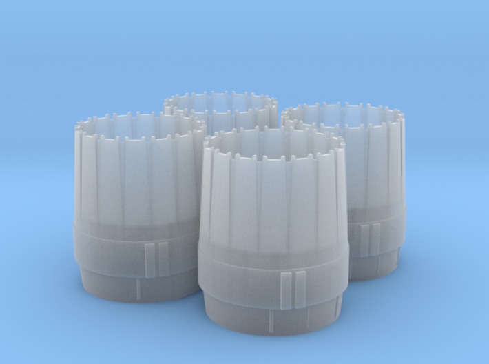 WING-X FM 1/48 ENGINE NOZZLES NO PIN 3d printed