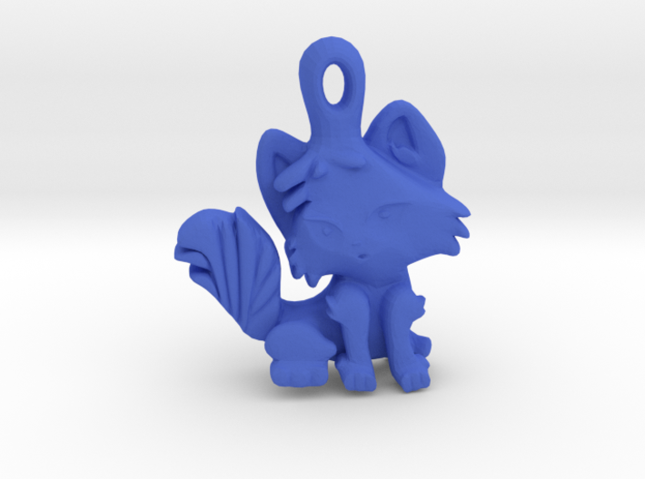 Kitty Cat Pendant Charm 3d printed