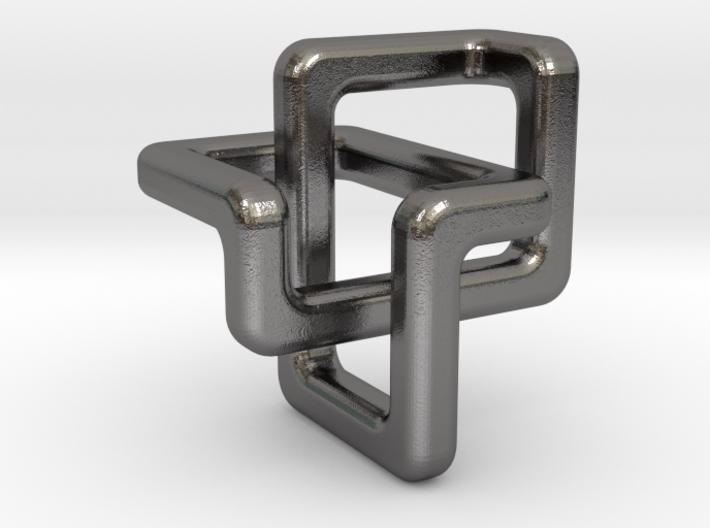 Trefoil Pendant 3d printed