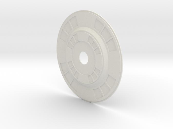 Oblivion turret Inside Face 3d printed