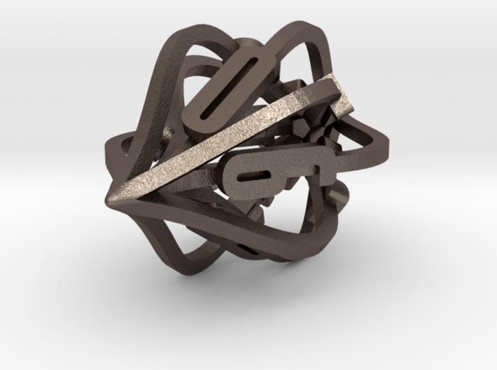 'Kaladesh' D10 Spindown Life Counter 3d printed