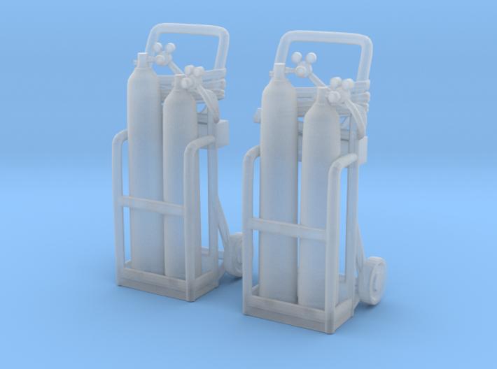 Oxy acetylene welder 01. 1:45 Scale 3d printed