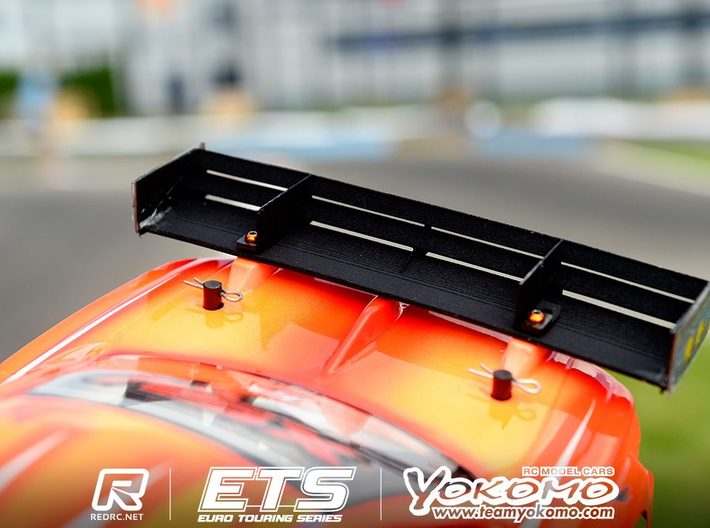 Touring car wing PDL LDF  3d printed