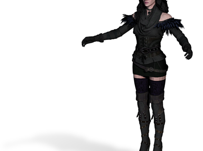 Yennefer 3d printed