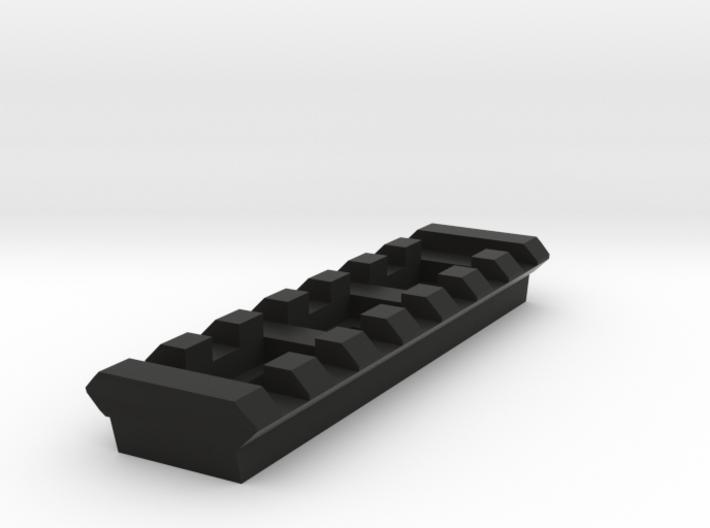 7 Slots Rail (Pre-Drilled) 3d printed