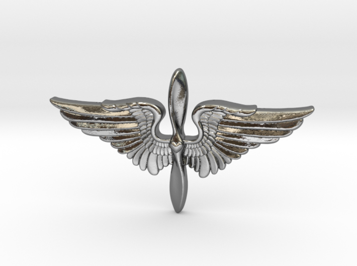 The Prop and Wings 3d printed