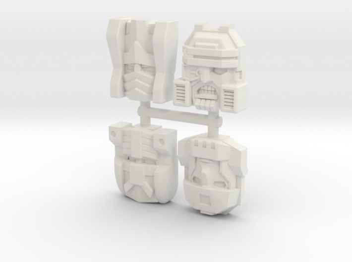 Armada Decepticon 4-Pack (Titans Return) 3d printed