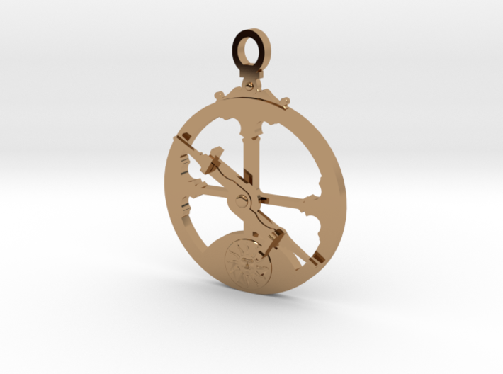 Mariner's Astrolabe 3d printed