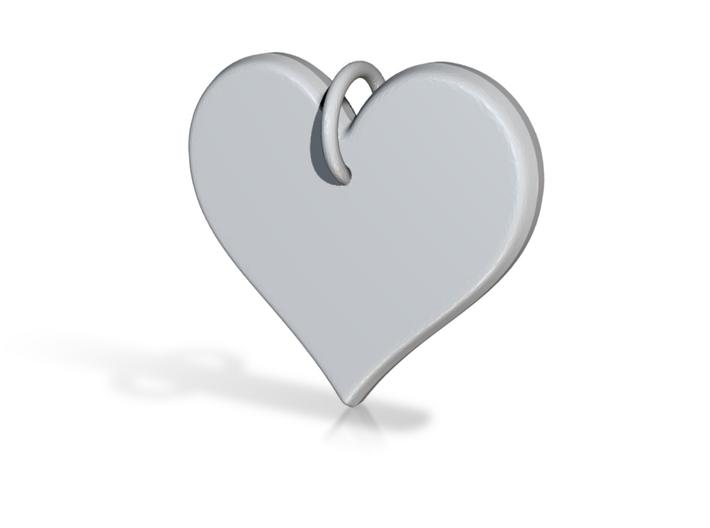 I am Loved Affirmation Pendant by bondswell3D 3d printed I am Loved Affirmation Pendant by bondswell3D