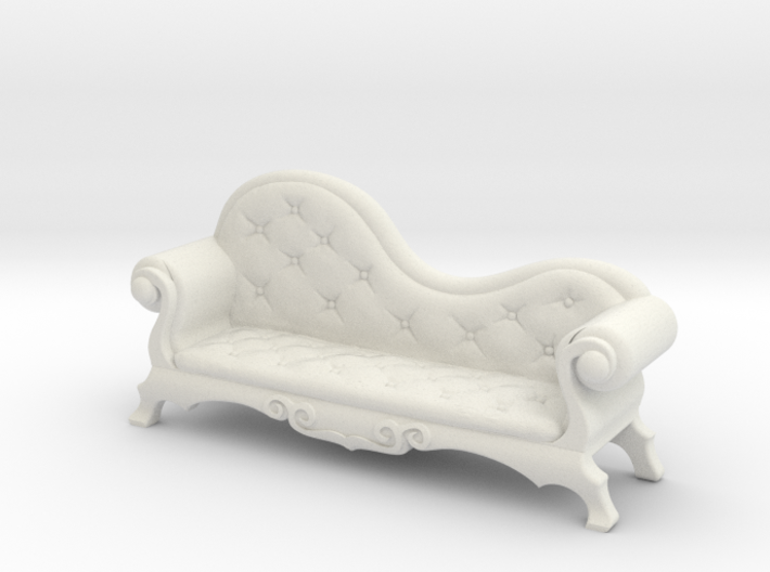 Victorian Chaise Lounge v4 3d printed