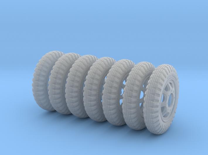 1-24 Opel Blitz Tire 190x20 FUD Set2 3d printed