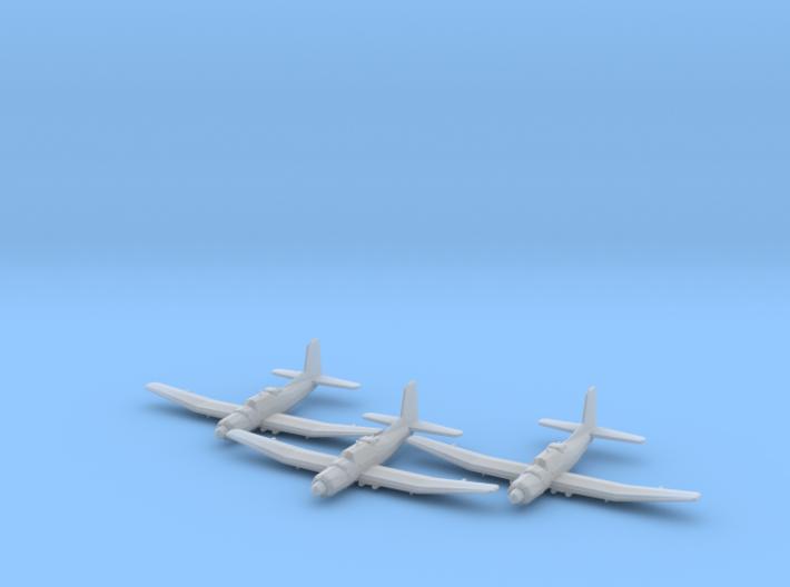 Douglas TB2D 'Skypirate' 1:200 x3 FUD 3d printed