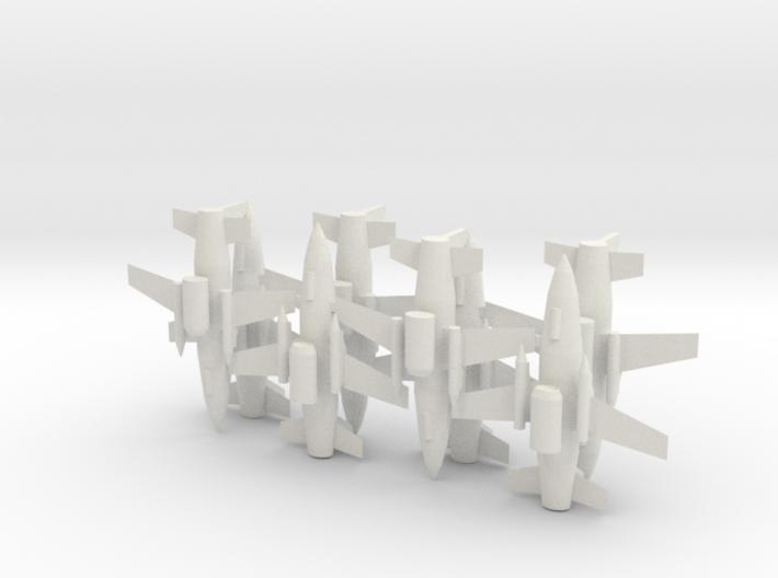 1/285 MQ-19 LCASD (x8) 3d printed