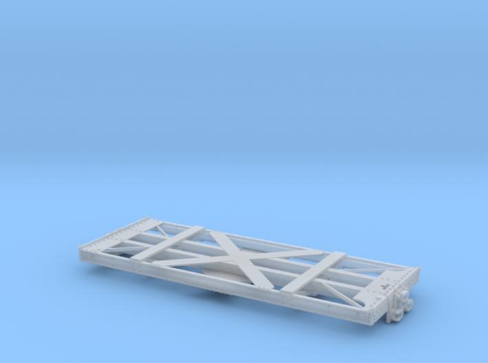 O-Scale D&RGW Dual Gauge Idler X-3050 3d printed