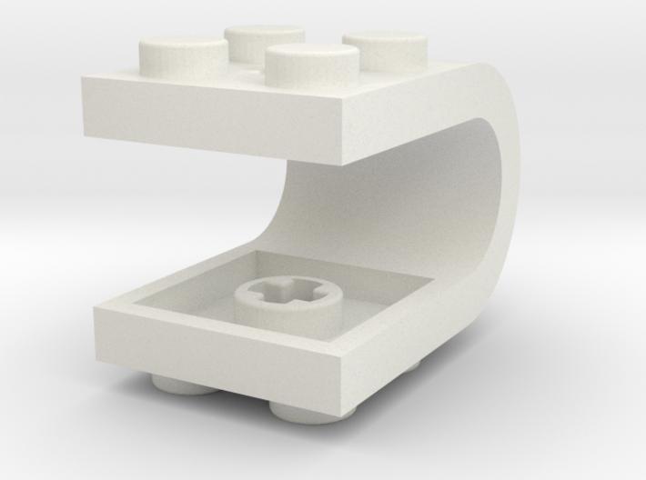 Custom Lego U-Plate EthanC 3d printed