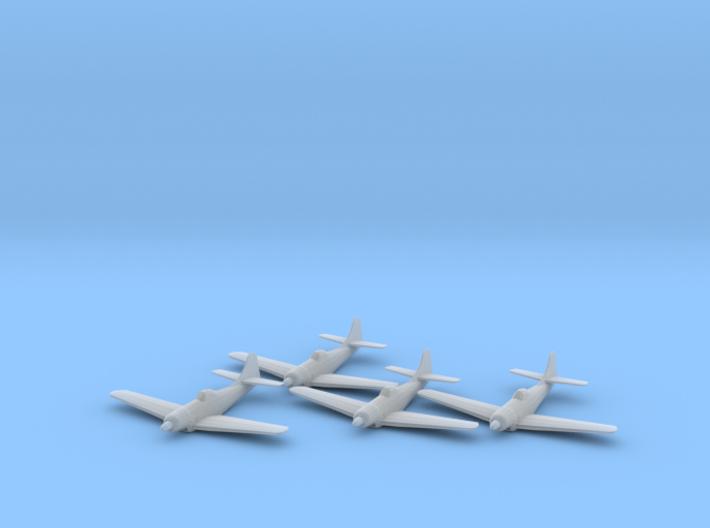 Boeing XF8B 1:200 x4 FUD 3d printed