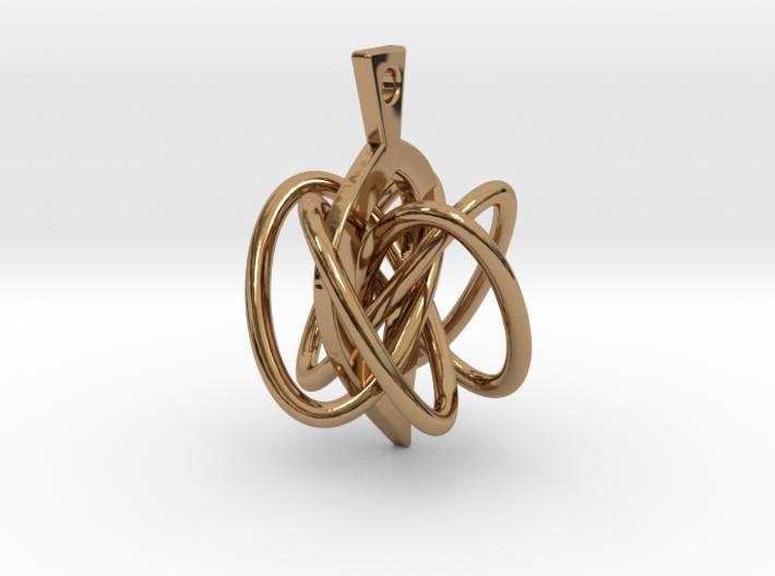 Knot-leaf 3d printed