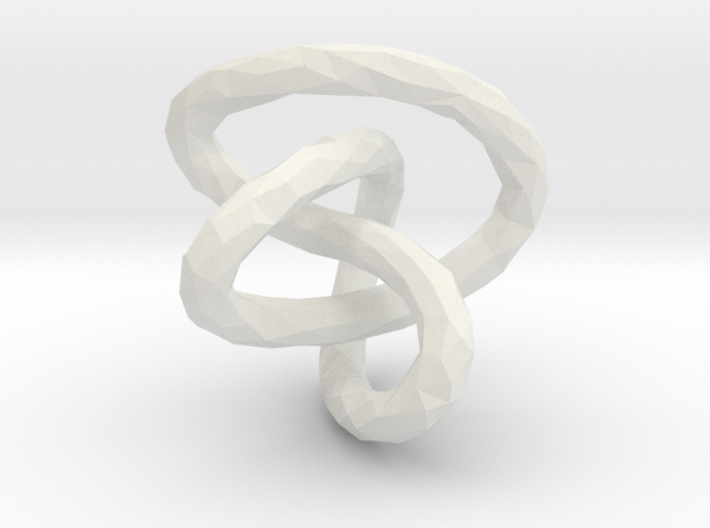 Infinite Knot - Lowpoly 3d printed
