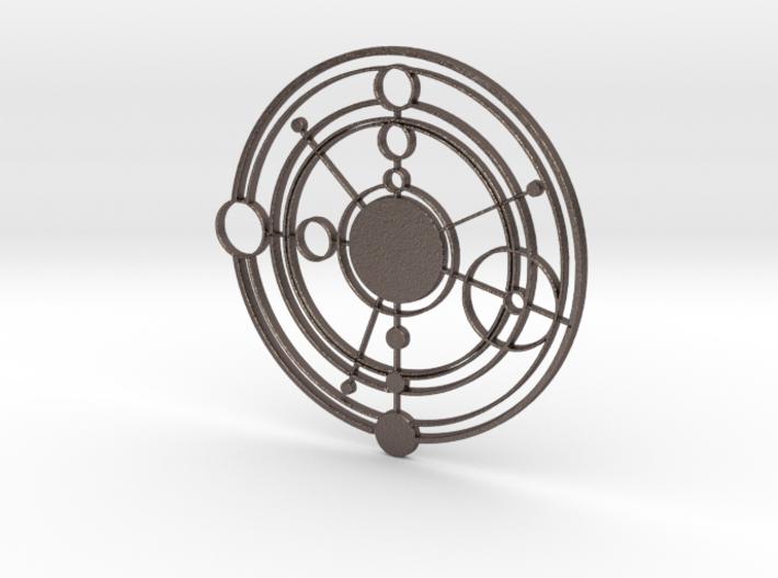 Galifreyan Symbol 3d printed
